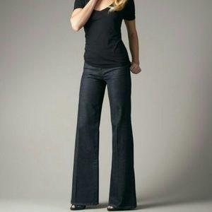 Joe's Jeans Wide Leg Trouser Khaki Navy